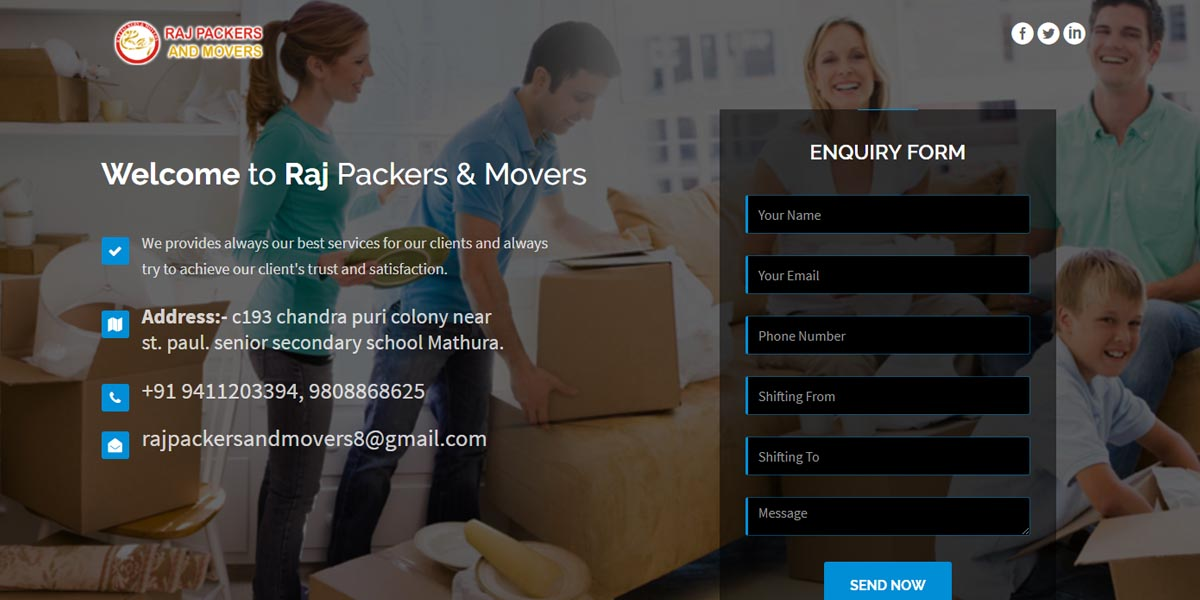 Raj Packer and Mover